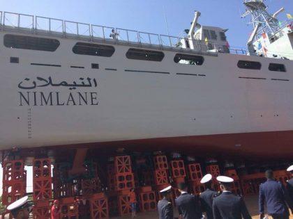 """سفينة """"النيملان"""" أكبر السفن العسكرية الموريتانية"""