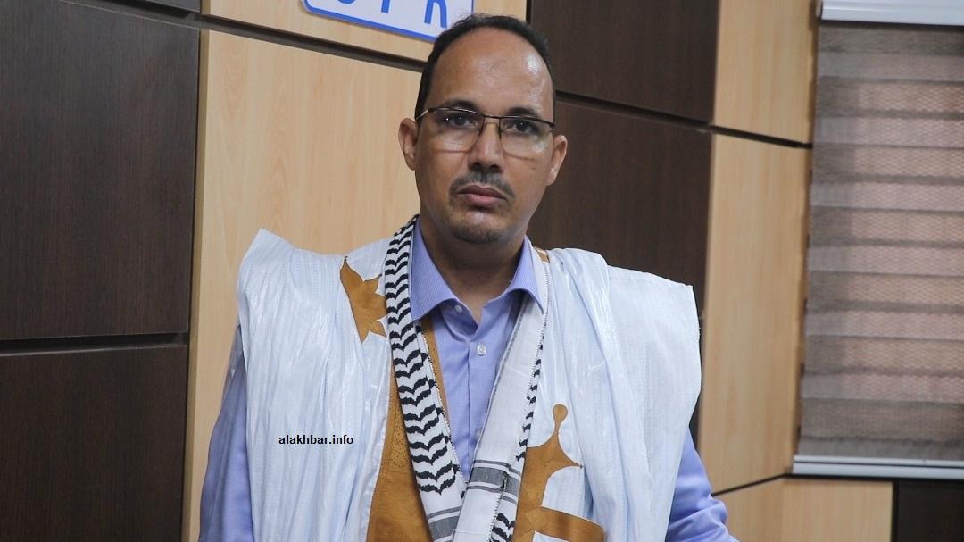 النائب البرلماني ورئيس كتلة الحزب الحاكم جمالي ولد اليدالي خلال تصريح سابق لوكالة الأخبار