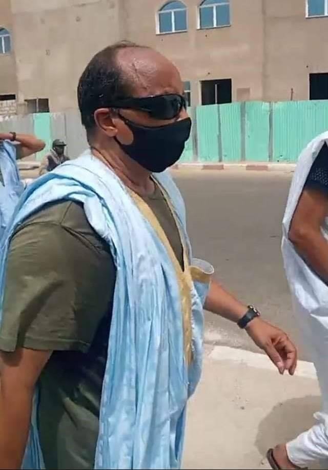 ولد عبد العزيز خلال سيره راجلا من منزله إلى إدارة الأمن صباح اليوم