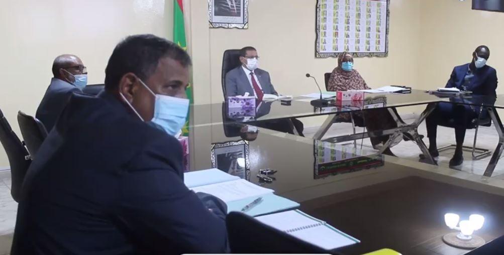 الاجتماع الذي نعقد اليوم تحت رئاسة وزير الصحة وأعلن في ختامه عن تشكيل اللجنة