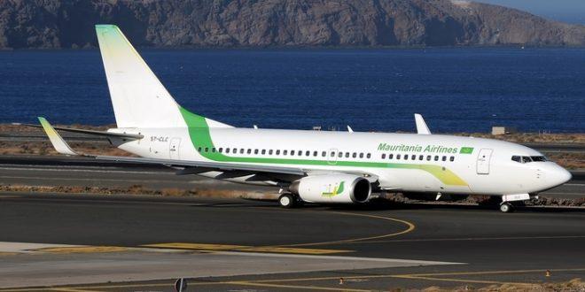 طائرة تابعة لشركة الموريتانية للطيران