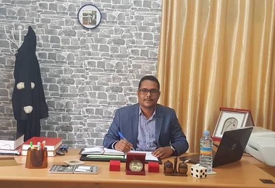 الخبير القانوني والمحامي محمد المامي مولاي اعل