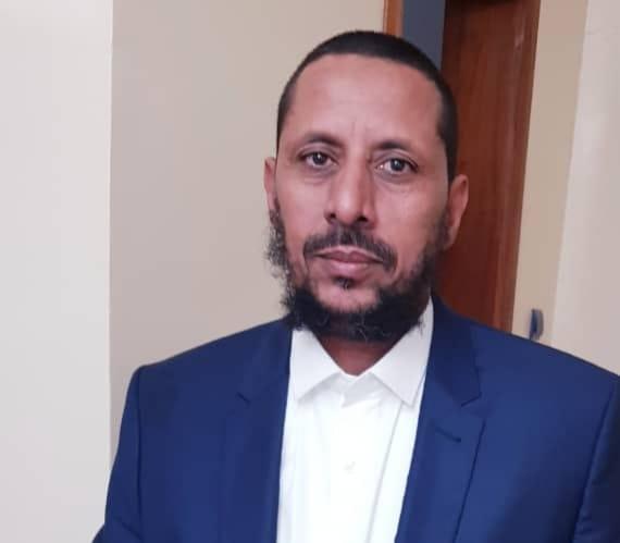 النائب البرلماني عن مقاطعة تامشكط بولاية الحوض الغربي محمد عبد الرحمن الصبار