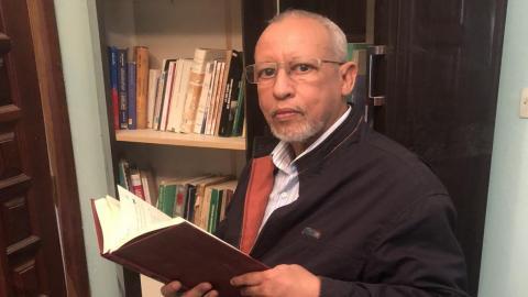 الكاتب والروائي الموريتاني الدكتور موسى ولد أبنو