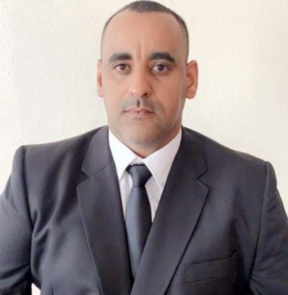 ممثل الأساتذة الجامعيين في الأكاديمية البحرية الدكتور عبد الرحمن أحمد طالب زروق
