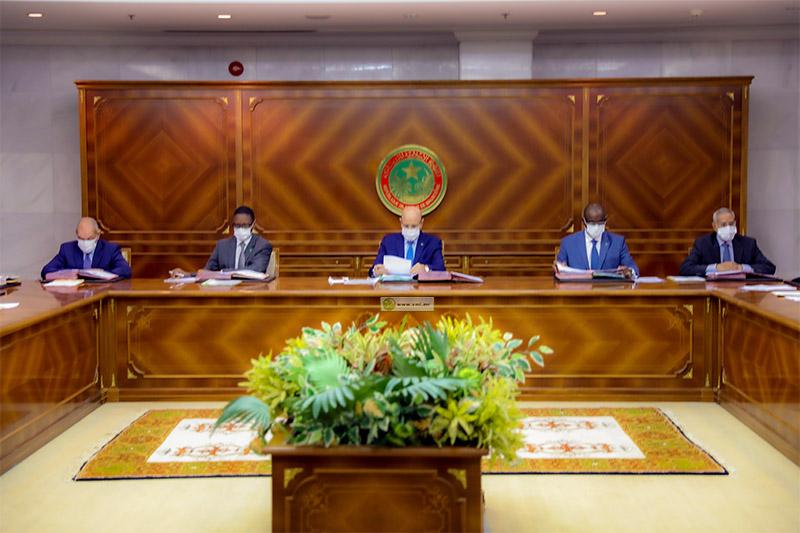 مجلس الوزراء خلال اجتماعه اليوم (وما)