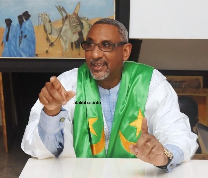 رجل الأعمال الموريتاني المصطفى ولد الإمام الشافعي (الأخبار - أرشيف)