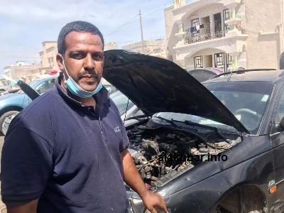 الميكانكي الشيخ بل ولد بوسيف أطلق مبادرة بإصلاح السيارات الحكومية مجانا طيلة فترة وباء كورونا بنواذيبو/ الأخبار
