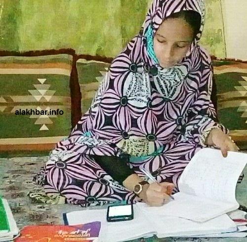 أكدت التلميذة مريم بنت الداه شروع مؤسستها في التعليم على مستوى نواذيبو/الأخبار