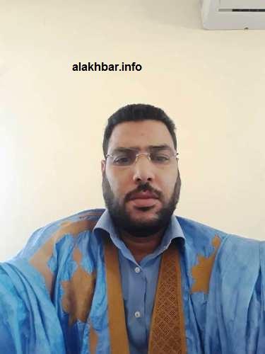 مدير الدروس في الثانوية1 وأحد المشرفين على مجموعة المؤسسة التعليمية أحمد سيد يعرف/الأخبار