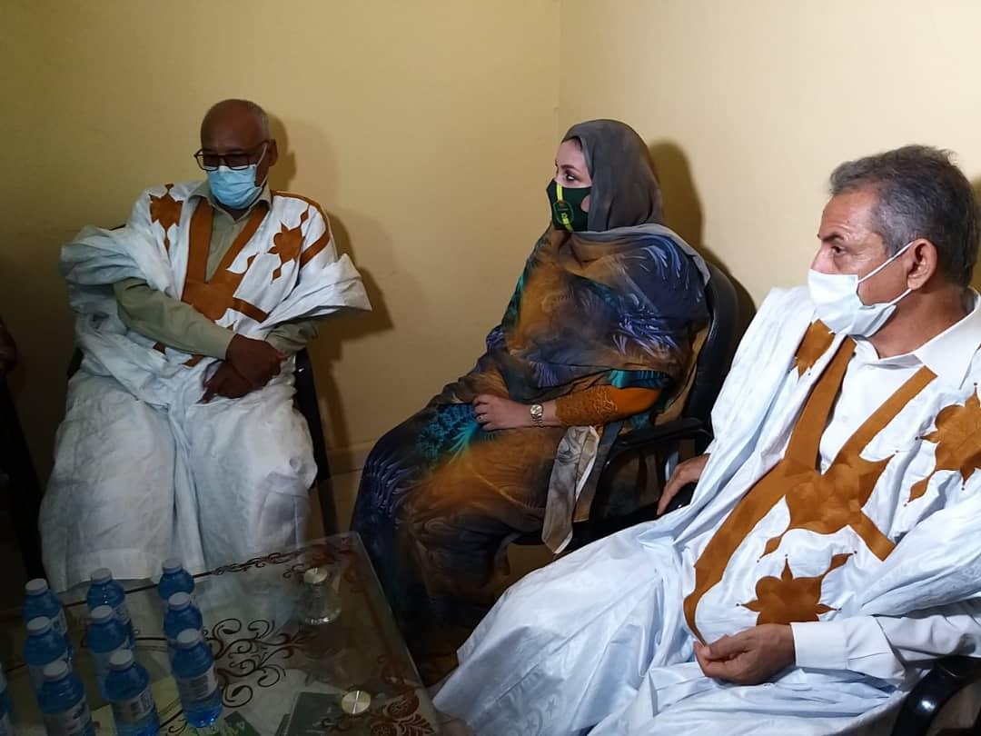 جانب من جولة الوزيرة رفقة مستشار الوالي والعمدة/ الأخبار
