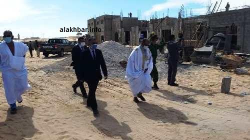 جانب من جولة الأمين العام لوزارة الإسكان رفقة الوالي والسلطات/ الأخبار
