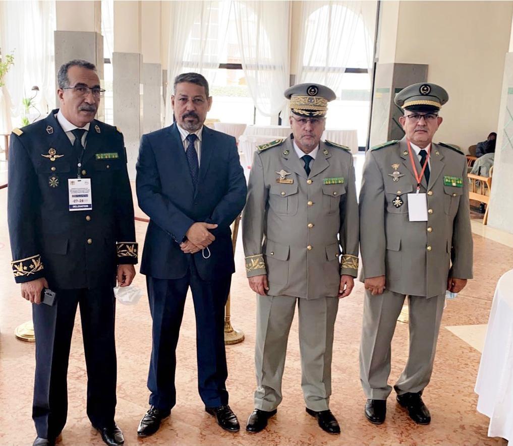 الوفد الموريتاني المشارك في الاجتماع