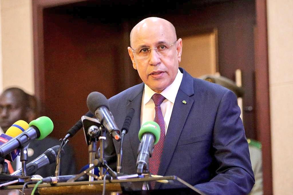الرئيس محمد ولد الغزواني