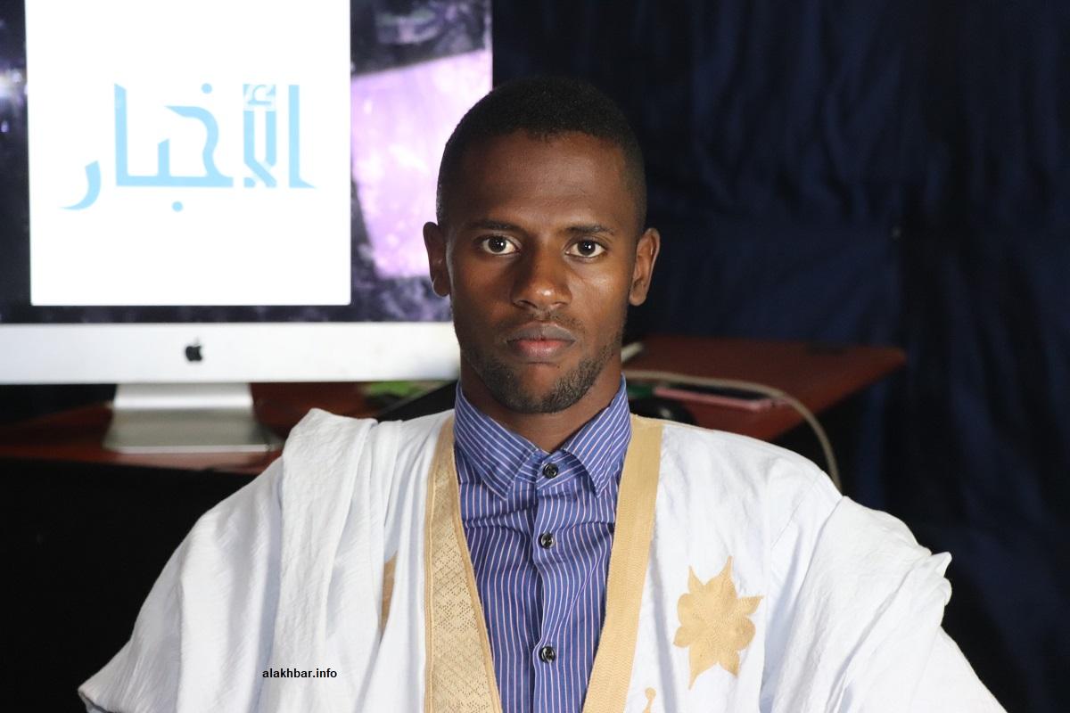 عضو المكتب التنفيذي للاتحاد الوطني لطلبة موريتانيا الولي همر فال