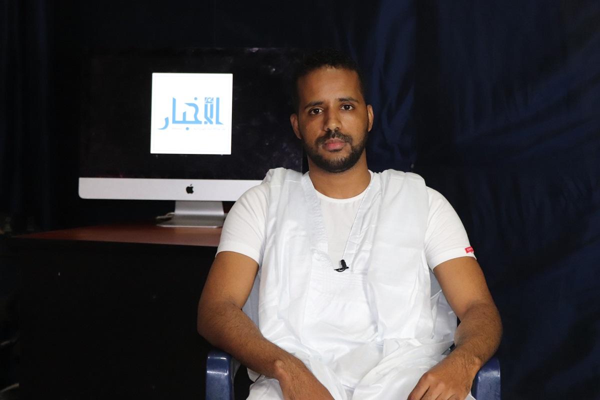 نائب رئيس اتحاد الطلبة الموريتانيين في مصر محمد عبد الله إبراهيم جدو