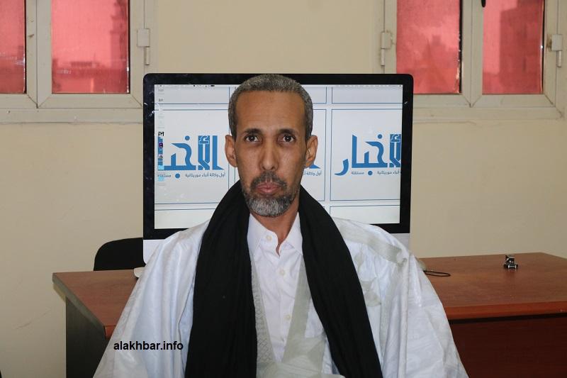 النائب البرلماني عن مقاطعة سيلبابي محمد الأمين ولد محمد لقظف