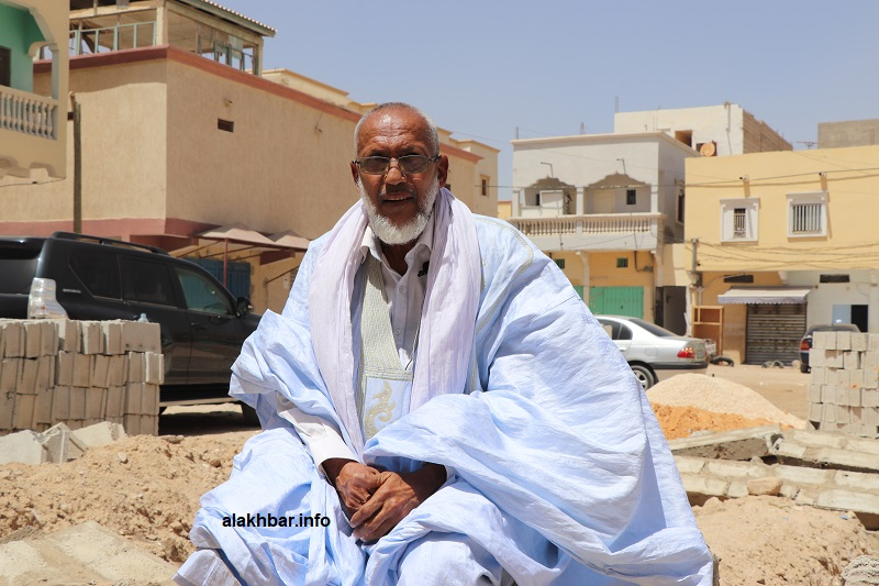 المتحدث باسم سكان الحي بوي أحمد أحمد الشريف المختار