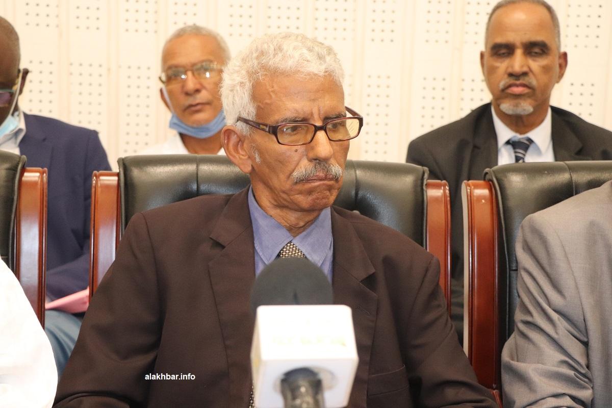نقيب المحامين الموريتانيين الأستاذ إبراهيم ولد أبتي (الأخبار - أرشيف)