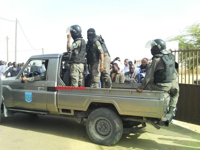 سيارة تابعة الوطني الموريتاني