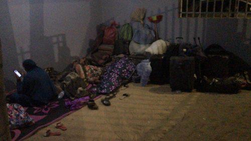معاناة العالقين الموريتانيين بروصو السنغالية