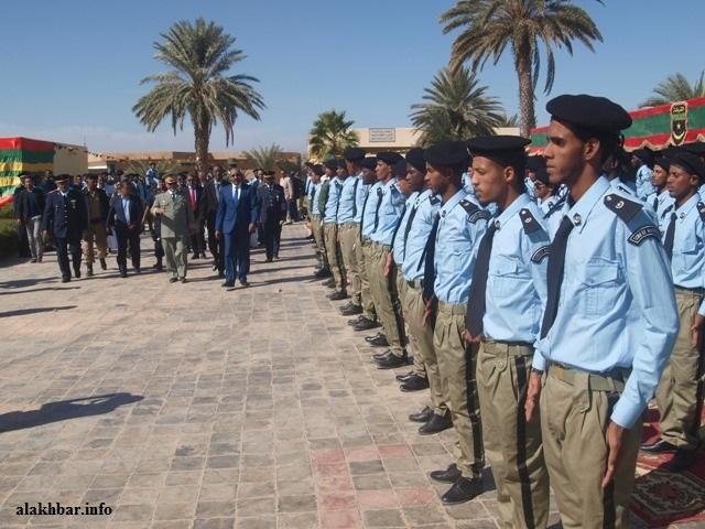 أفراد من الشرطة خلال احتفال سابق بنواكشوط (الأخبار - أرشيف)
