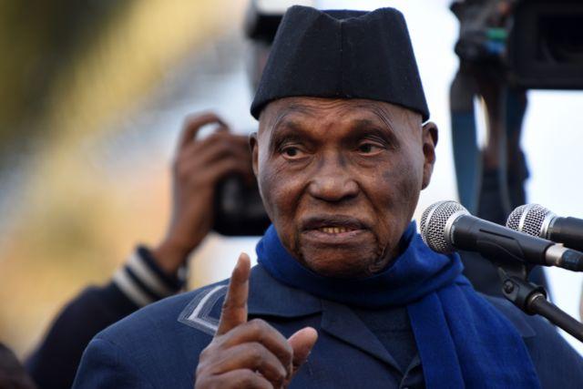 الرئيس السنغالي السابق عبد الله واد