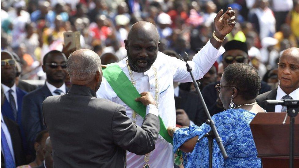 جورج ويا: رئيس ليبيريا