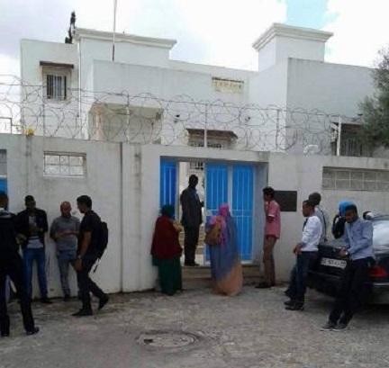 مبنى السفارة الموريتانية في تونس
