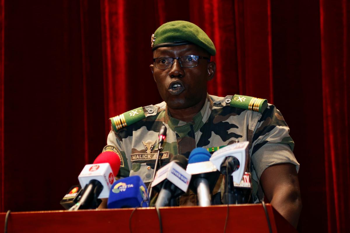 العقيد مالك دياو: رئيس المجلس الانتقالي في مالي