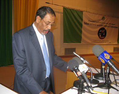 المدير العام المساعد للأمن سابقا المفوض الإقليمي محمد الأمين ولد أحمد