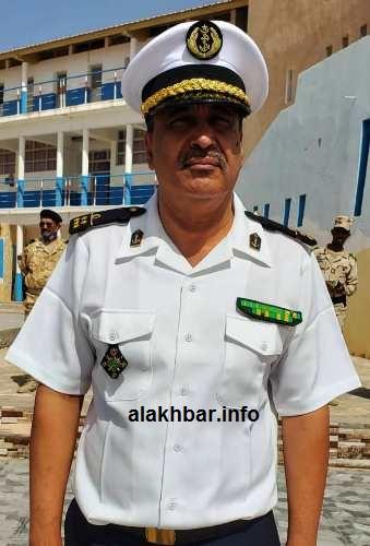 قائد الأكاديمية البحرية الجديد العقيد البحري أبوبكر أحمد سيدي