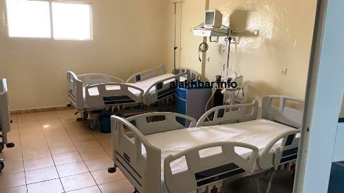 بعض الأسرة التي كنحتها منظمة الصحة العالمية لمستشفى نواذيبو/ الأخبار