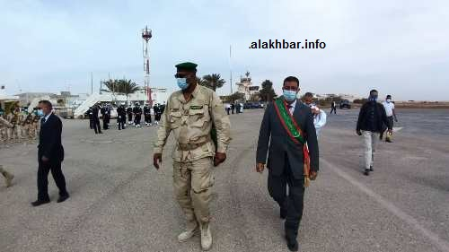 قائد المنطقة العسكرية الأولى إلى جانب رئيس المجلس الجهوي/ الأخبار