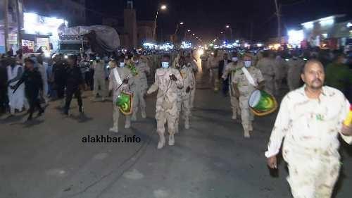 قطعت مسيرة حملة المشاعل قرابة 7 كلم صوب المنصة الرسمية/ الأخبار
