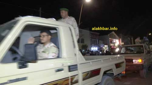 جانب من سيارات الجيش المشاركة في العرض/ الأخبار