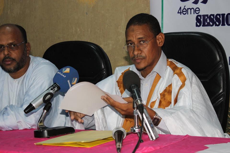 الصوفي ولد الشيباني: نائب رئيس حزب تواصل