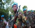 عناصر من القوات اتشادية المشاركة بعمليات حفظ السلام بمالي.