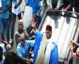 عبد الله واد الرئيس السنغالي السابق والمترشح لتشريعيات 30 يوليو