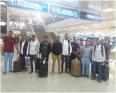 رابطة الطلاب والمتدربين الموريتانيين بتونس خلال استقبالها لدفعة من الطلاب الممنوحين