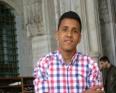 الرئيس السابق لاتحاد الطلبة الموريتانيين في تركيا الطالب إبراهيم العادل