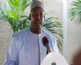 الرئيس الغامبي آدما بارو.