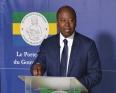 آلين اكلود وزير الاتصال الناطق باسم الحكومة الغابونية.