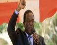 إميرسون منانغاغوا نائب رئيس زيمبابوي المقال، المرتقب تنصيبه رئيسا للبلاد.