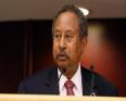 عبد الله حمدوك: رئيس الوزراء السوداني المقال