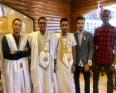 بعض أعضاء المكتب التنفيذي الجديد لاتحاد الطلبة الموريتانيين في السودان