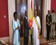عمارو سيسوكو إمبالو: رئيس غينيا بيساو والرئيس منتهي الولاية جوزي ماريو فاز