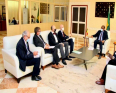 سفراء أوروبيون وأمميون خلال اجتماعهم مع الوزير الأول المالي