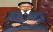 الناطق باسم الحكومة الموريتانية محمد الأمين ولد الشيخ خلال مؤتمره الصحفي اليوم عقب اجتماع الحكومة (وما)