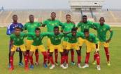 المنتخب الموريتاني للناشئين قبيل مباراته مع المنتخب جيبوتي مساء السبت